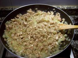 empanadilla de champinones 3 - Empanadillas al horno de champiñones, queso de cabra y tomillo