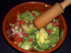 guacamole ingredientes - Receta de guacamole de mi amiga Berta