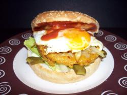 hamburguesa vegetal