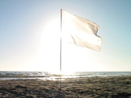 bandera blanca - TREGUA de noticias pesimistas por Navidad