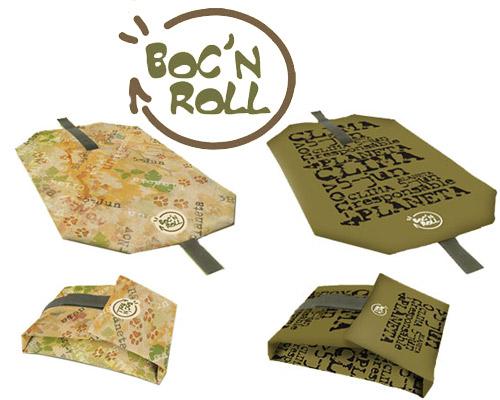 bocnroll - Boc'n roll, envoltorio ecológico para alimentos inventado por una abuela catalana y su nieto