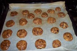 cookies horno1 - Cookies de chocolate y nueces más sanas