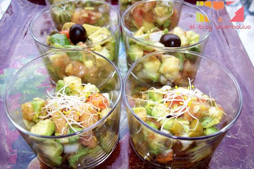 tartar de aguacate1 - Tartar de aguacate y tomate