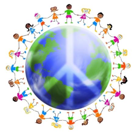 children peace world sm - día de la paz