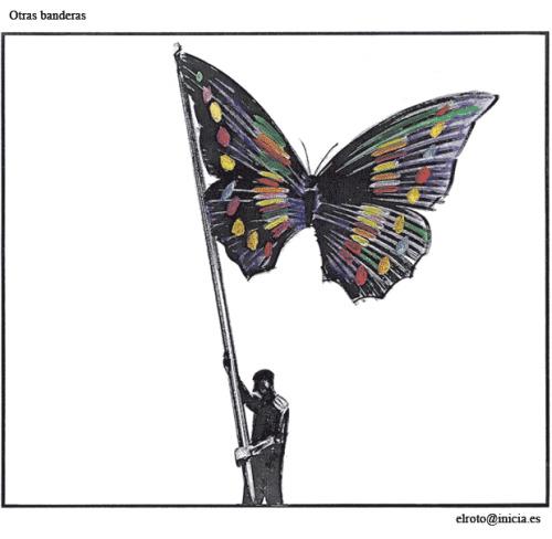 el roto mariposa