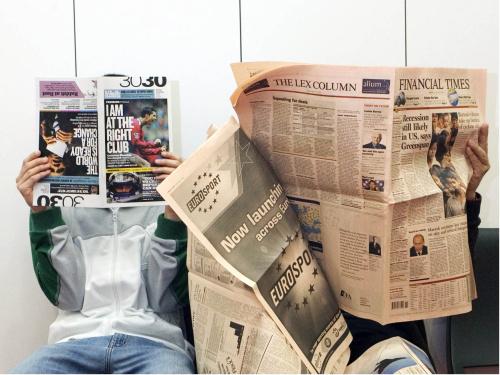 leer periodico