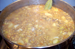 receta de lentejas vegetarianas al jengibre
