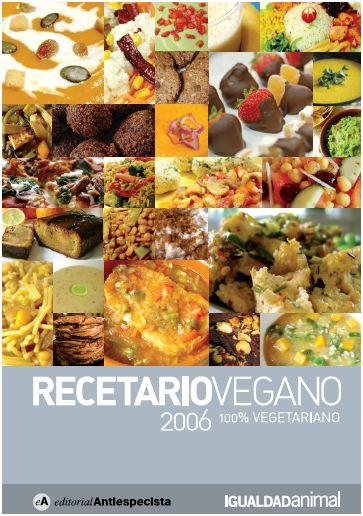 recetariovegano - Recetario vegano en pdf. Descubre nuevas recetas