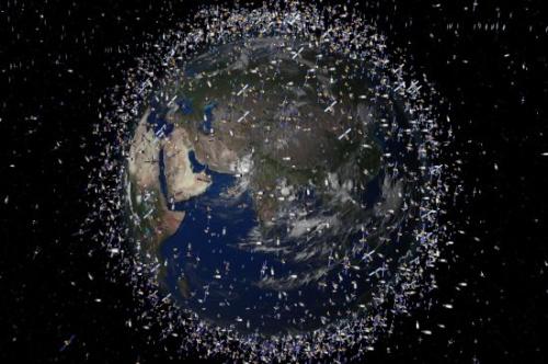 basura espacial - basura espacial