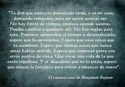 benjamin button - El Curioso Caso de Benjamin Button: una sabia reflexión sobre la vida