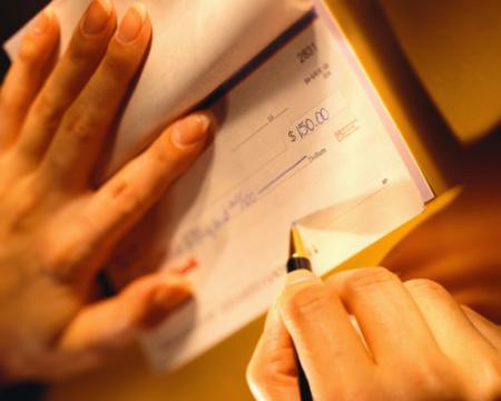 cheque - cheque