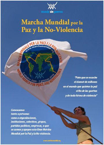 marchapaz - Marcha mundial por la paz y la no violencia: la nueva conciencia planetaria