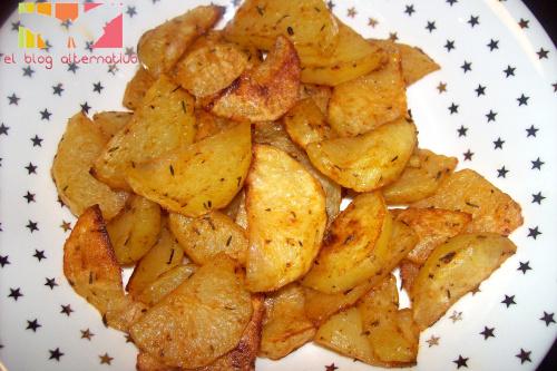 patatas al horno a las hierbas