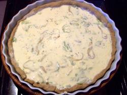 quichecalabacines2 - Quiché de calabacines y cebolla al roquefort