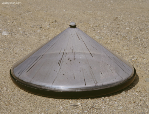 Watercone purificador de agua solar