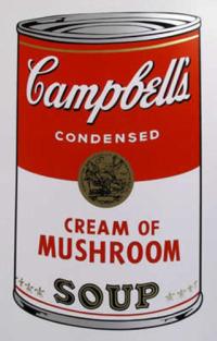 campbells - Receta de crema de champiñones