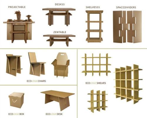 carboardesign - Muebles de cartón reciclado y reciclable Cardboardesign
