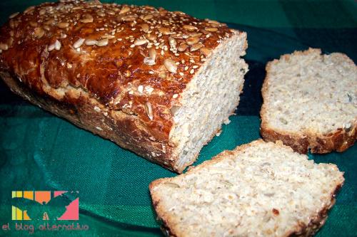 receta para hacer pan de caja integral