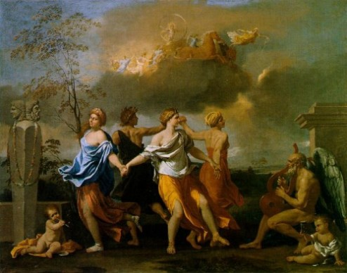 poussin music of time 500x393 - Sonido, arte y psique