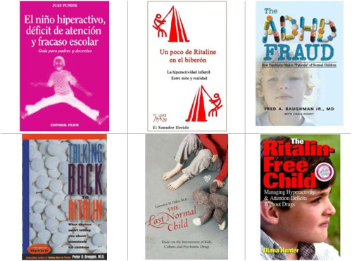 ritaline bibliografia libros1 - Bibliografía crítica con el diagnóstico de la hiperactividad y los fármacos