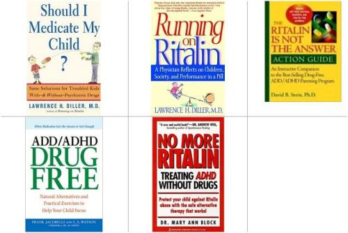 ritaline bibliografia libros2 - Bibliografía crítica con el diagnóstico de la hiperactividad y los fármacos