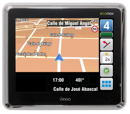 vexia econav - Vexia Econav: el navegador GPS que te ayuda a ahorrar y a contaminar menos