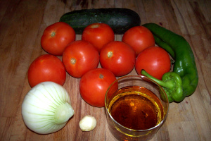 gazpacho ingredientes - gazpacho