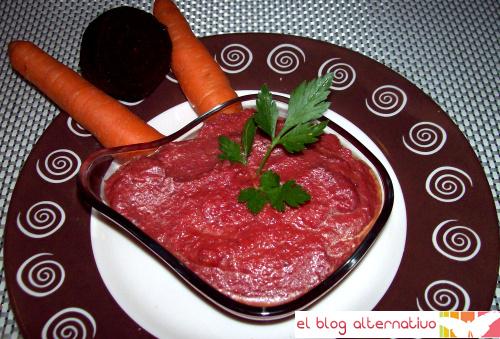 salsa remolacha - Salsa de remolacha o falso tomate