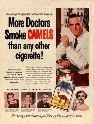 tabaco2 - Cuando fumar era recomendable y positivo. 7 reflexiones en el DIA MUNDIAL SIN TABACO