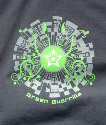 guerrilla2 - green guerrilla de mandacaru
