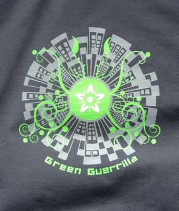 green guerrilla de mandacaru
