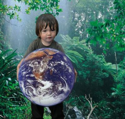 ninos medioambiente - Reduce el cambio climático: vive conscientemente