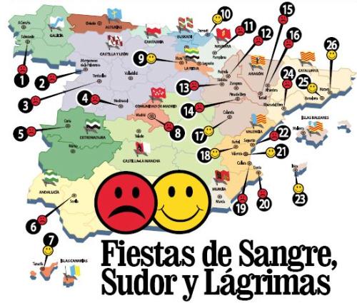 fiestas espanolas - Fiestas españolas con animales