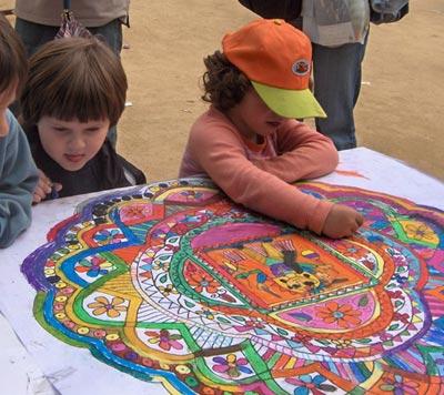 mandala vacaciones - Vacaciones alternativas CON niños