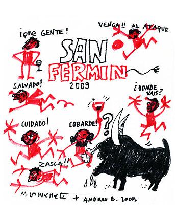 san fermin - Especial ANTI SAN FERMIN en el blog: un artículo a favor de los animales y contra el especismo a la misma hora que los encierros