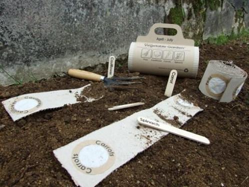 alfombra huerta 1 - Cultivos simples con la alfombra huerta Roll Out Veg Mat