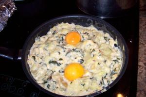 calabacines rellenos12 - Receta de calabacines rellenos de soufflé de verduras
