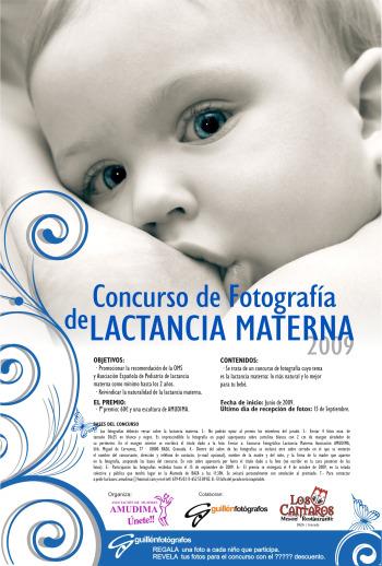 cartel concurso lactancia - Concurso de fotografías de Lactancia Materna hasta el 15 de septiembre del 2009