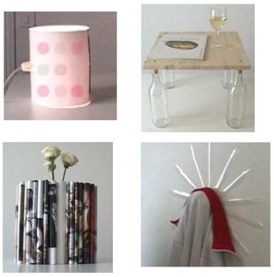 reciclaje2 - PIERRE LOTA: 8 objetos de decoración y reciclaje en casi un minuto