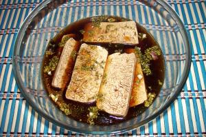 tofu papilote1 - Receta de tofu macerado en papillote