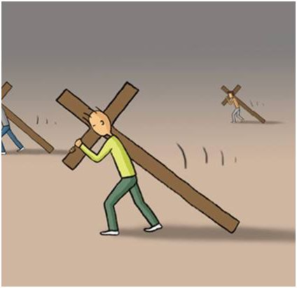 cruz2 - ¿Cómo llevas las cruces de la vida?