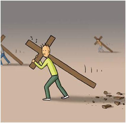 cruz5 - ¿Cómo llevas las cruces de la vida?