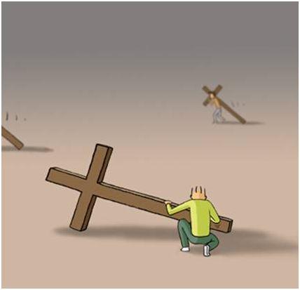 cruz8 - ¿Cómo llevas las cruces de la vida?