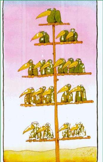 jerarquia - La jerarquía en la empresa no debe inhabilitar la ética empresarial