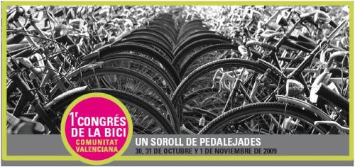 bici valencia - I Congreso de la Bici en Valencia: 30, 31 de octubre y 1 de noviembre del 2009