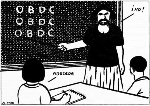 """chiste el roto obdc - CLAUDIO NARANJO: """"La escuela se usa para domesticar"""""""