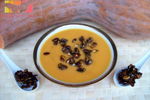 crema clabaza roquefort portada2 - crema-calabaza al-roquefort