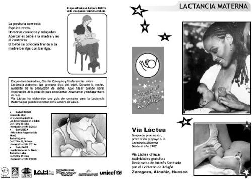 lactancia folleto2 - Dos buenas guías online de lactancia materna y un folleto en varios idiomas