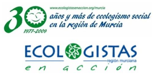 murcia - 30 años y más de ecologismo social en Murcia. Jornadas del 22 al 24 de octubre 2009