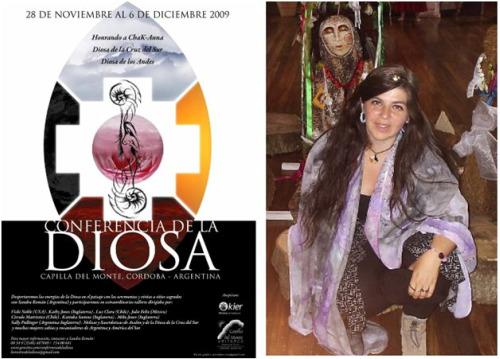 sandra roman3 - Sandra Román en Chile el 6 y 7 de noviembre y CONFERENCIA DE LA DIOSA en Argentina del 28 de noviembre al 6 de diciembre 2009